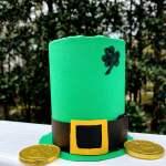 DIY Tin Can Leprechaun Hat