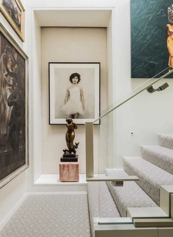 Platemark Interior Design Commonwealth Avenue Stairs Vee Speers
