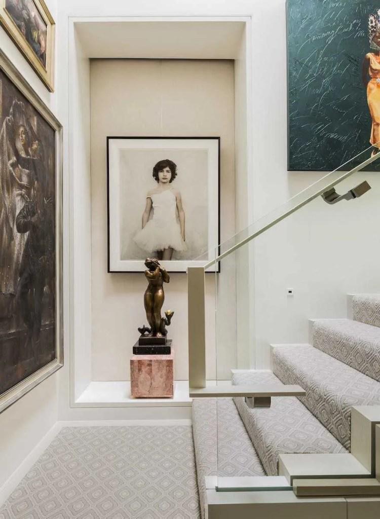 Platemark Interior Design Commonwealth Avenue Stairs Vee Speers