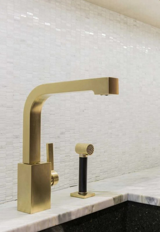 Platemark Interior Design Commonwealth Avenue Dornbracht Faucet Detail