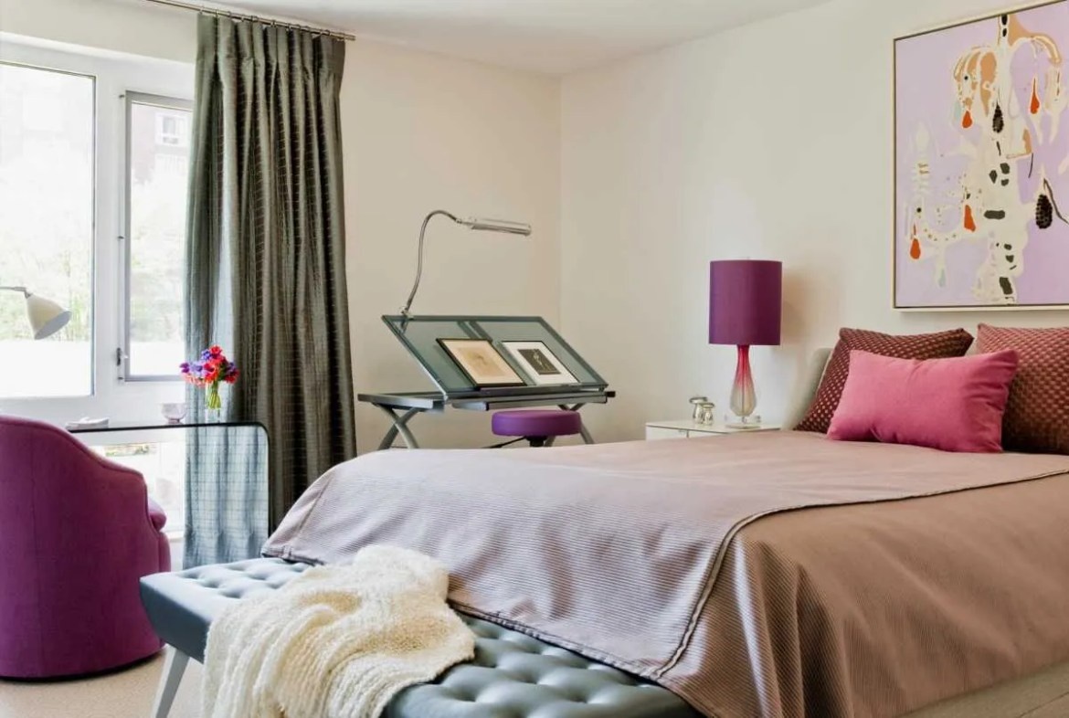 Platemark Interior Design Harvard Square Girls Bedroom 01