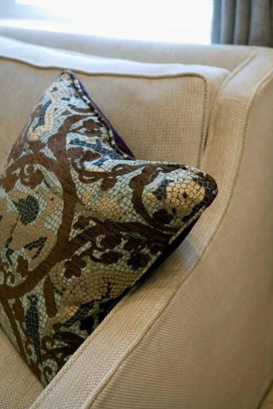 Platemark Interior Design Newbury Street Gallery Pillow