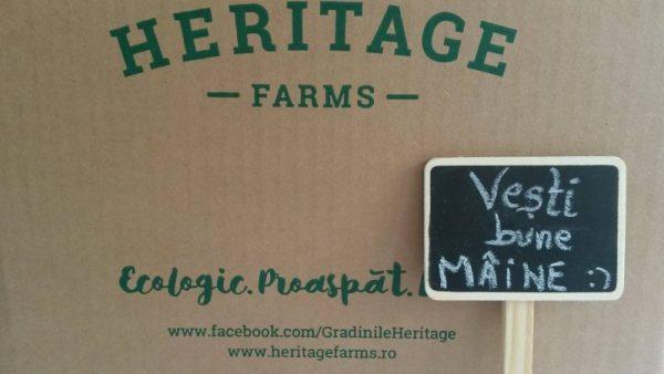 cos cu legume Heritage Farms