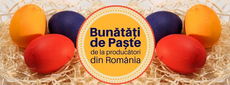 Bunătăți de Paște 2018 de la producători din România