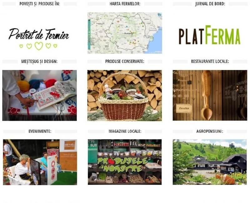 Descopera PlatFerma, platforma fermierilor si gurmanzilor romani