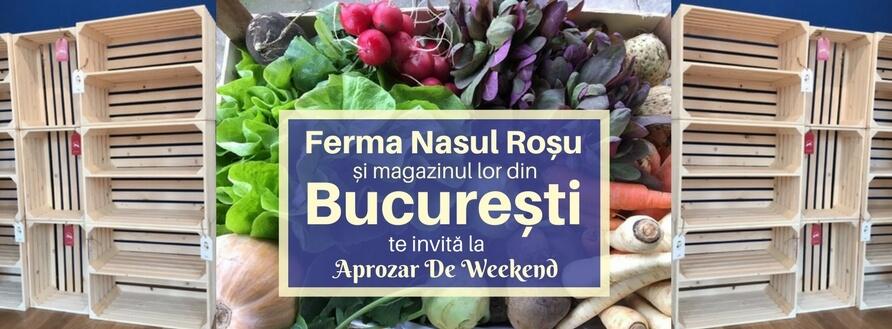 Ferma Nasul Roșu deschide magazin în București