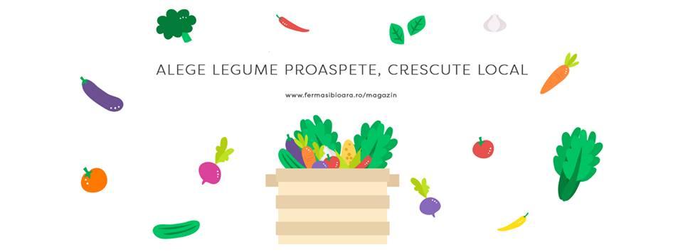 Ferma Sibioara, legume din Constanța (și) pe Instagram