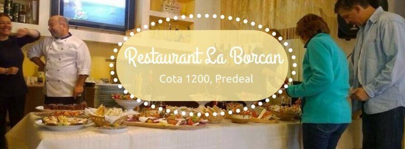 Restaurant La Borcan, restaurant Predeal, pensiunea Cota 1200