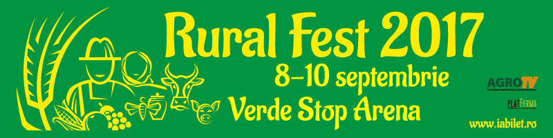 Rural Fest 2017, septembrie 2017, evenimente Bucuresti