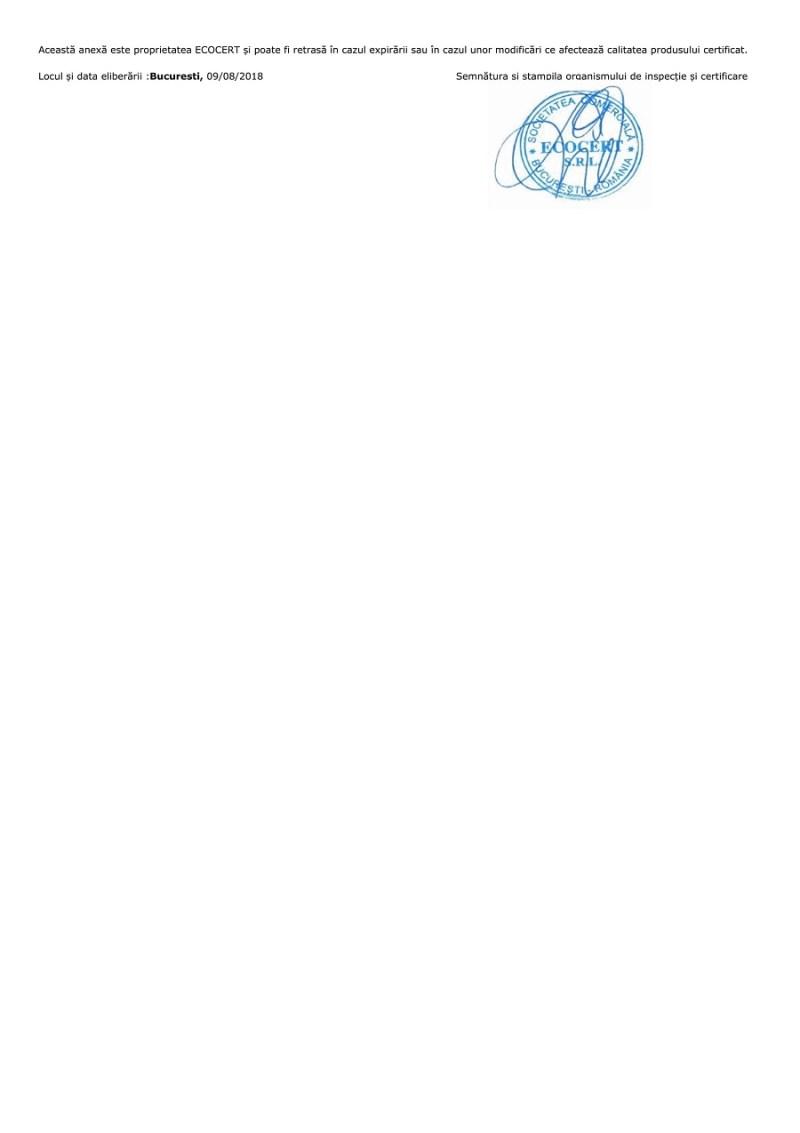 Certificat ecologic La Borcan