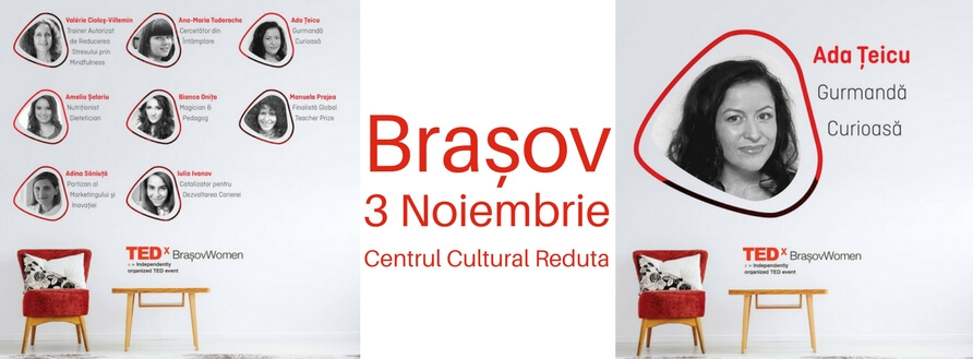 Conferința TEDx Brașov Women: Fill in the blanks