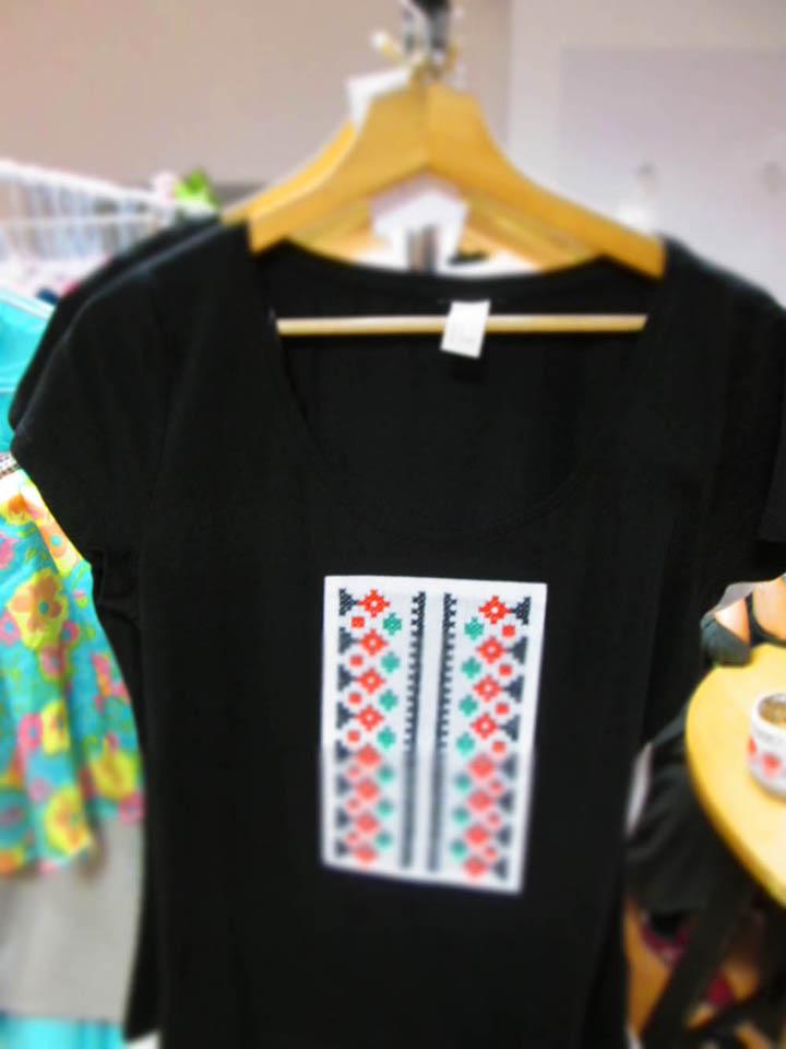 Tricou ZESTRE cu model tradițional romanesc