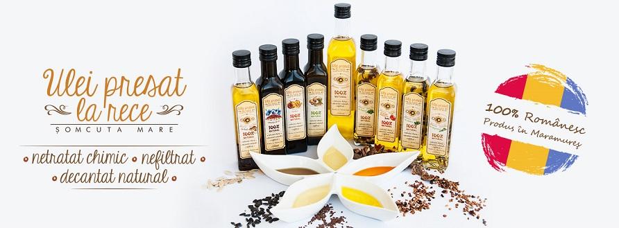 Ulei Șomcuta, ulei presat la rece din Maramureș