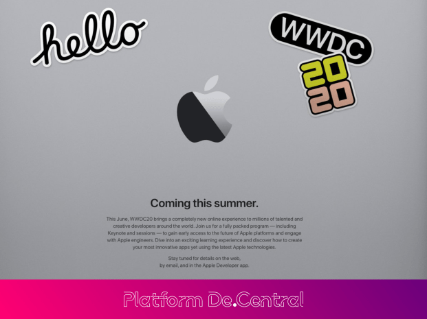 Apple WWDC Goes Online Only & Stays Positive