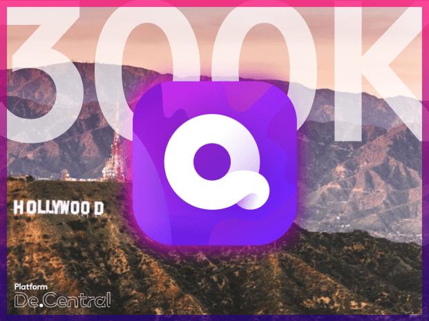 Quibi hits 300k downloads