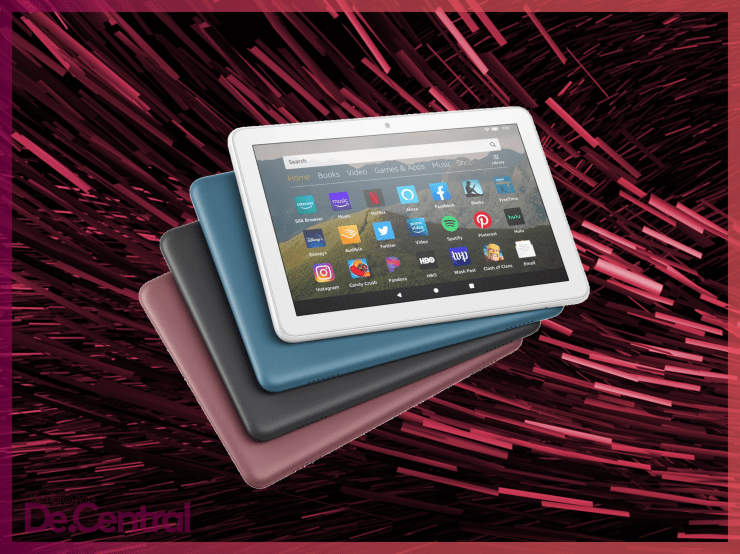 Get the three New Amazon Fire HD 8 Tablets here