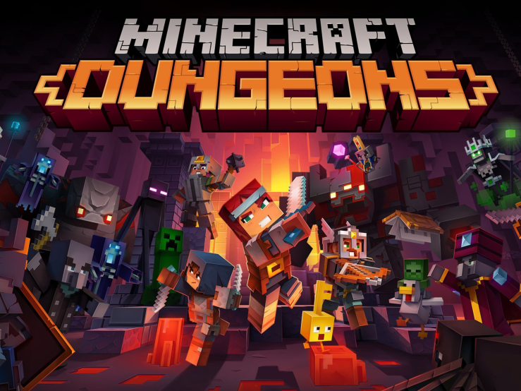 Minecraft Dungeons now has multi device cross-saves feature