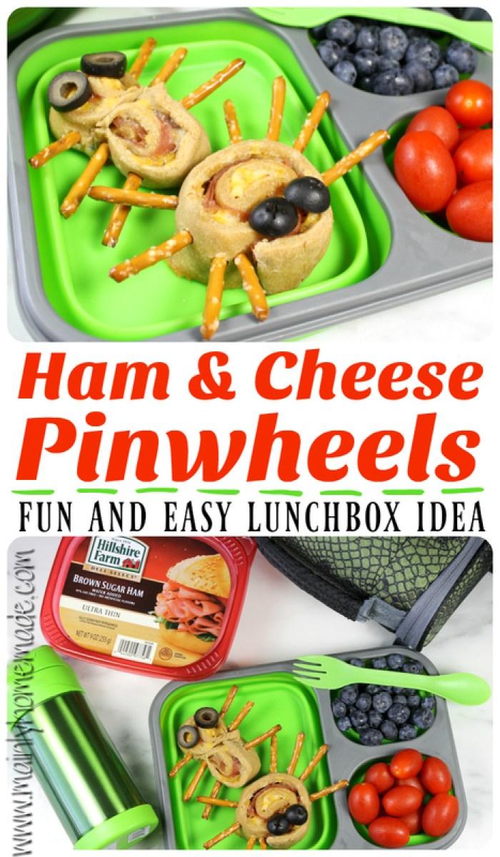 Ham and Cheese Pinwheels