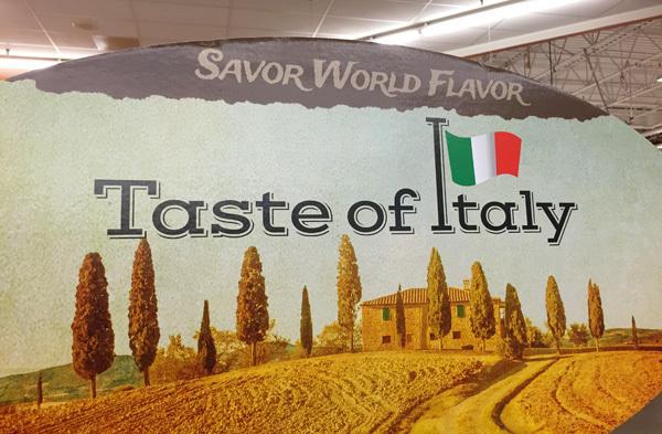 Kroger Taste of Italy Event