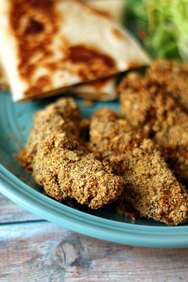 Crispy Southwestern Tortilla Chicken