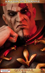 Kratos on Throne - Gaming Heads Exclusive - 9