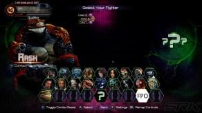Killer Instinct Season 3 Character Select Screen