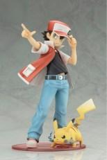 Kotobukiya ARTFX J Trainer Red With Pikachu Statue 1