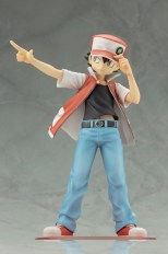Kotobukiya ARTFX J Trainer Red With Pikachu Statue 2