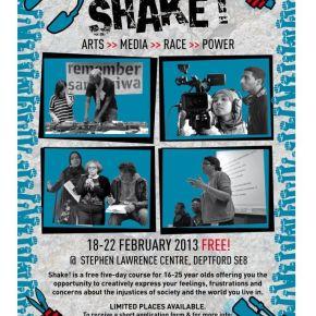 SHAKE! Arts>>Media>>Race>>Power, 18-22 February