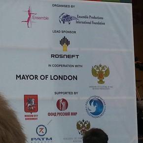 Sunday at Trafalgar Square: oil sponsorship meets Russian militarism
