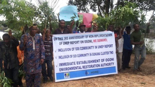 Ogoni protest 2014