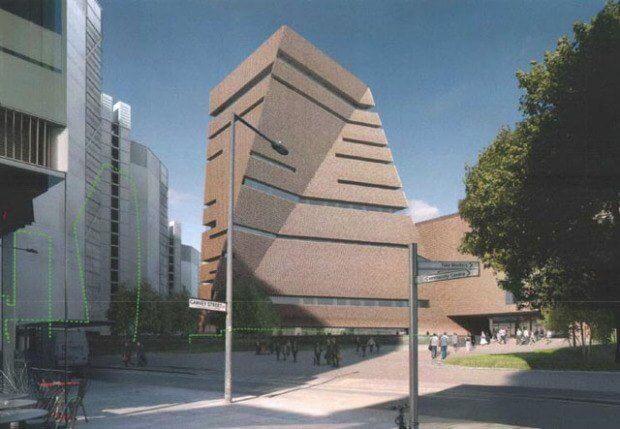 Tate Modern Extension by Herzog & de Meuron Images © Herzog & de Meuron