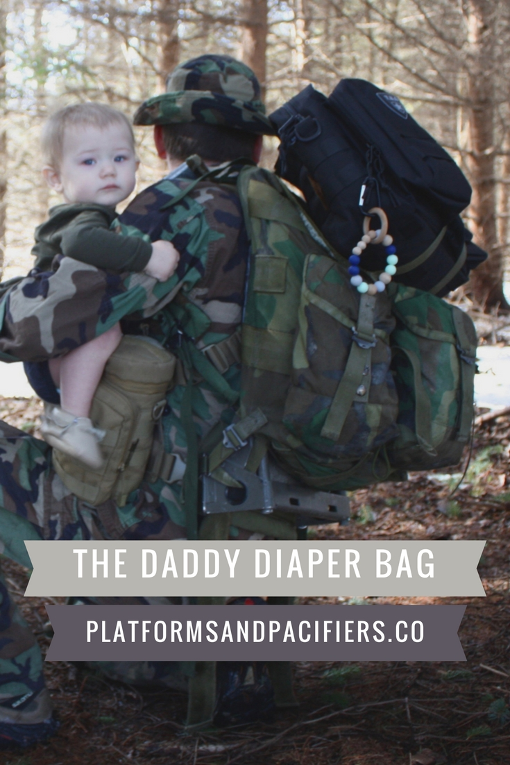 Tacti-Dad with Tactical Baby Gear