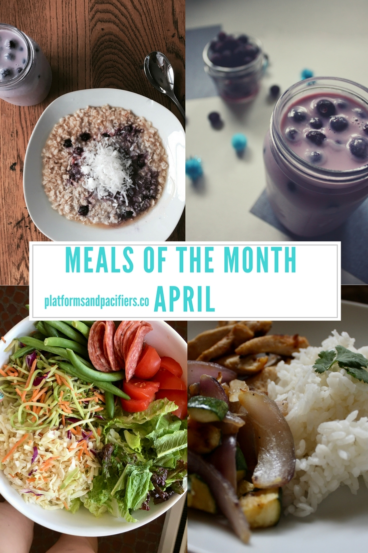 Meals of the Month 04.2017