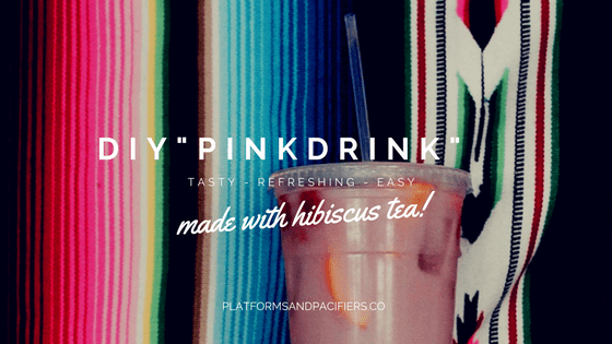 "15 Minute DIY : ""Pink Drink"""