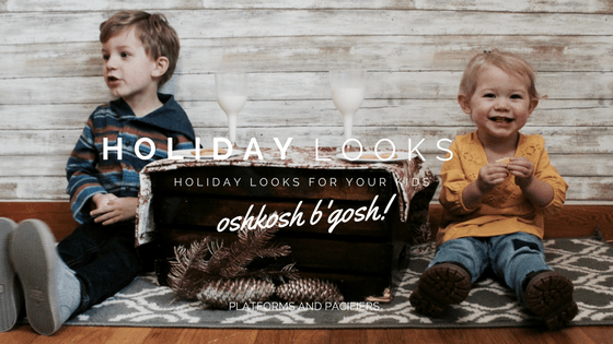 Mini Style : Easy Toddler Holiday Looks