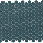 Petrolio Mosaico Round