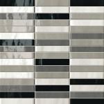 Manhattan Tratti Grigi Mosaico