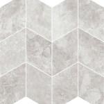 Grey Marble Freccia Mosaic