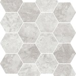 Grey Marble Hexagon Mosaic