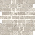 Limestone Taupe Spaccatella Mosaic