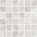 "Grey Marble 2"" x 2"" Mosaic"