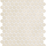 Color Now Beige Round Mosaico