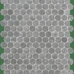 Roma Diamond Grigio Superiore Round Mosaico
