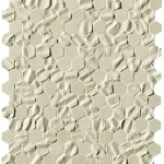 Bloom Beige Star Esagono Mosaico
