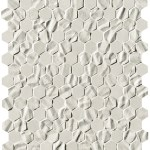 Bloom White Star Esagono Mosaico