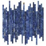 Marvel Ultramarine Mosaico Line Lappato 6mm