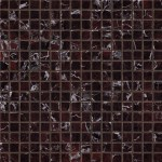 Marvel Red Luxury Mosaico Lappato