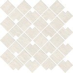 Raw White Mosaico Block WALL