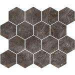 Gray Stone Hex Mosaic